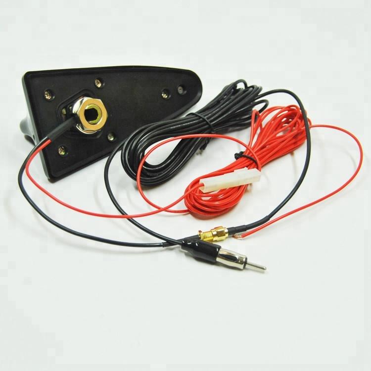Parts & Accessories Black Universal Auto Car Roof Radio AM