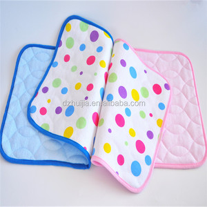 100% nature bamboo baby waterproof changing pad diaper changing pad portable