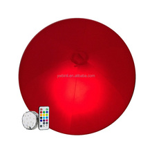 Giant remoted LED beach ball with logo for promotion light inflatable ball