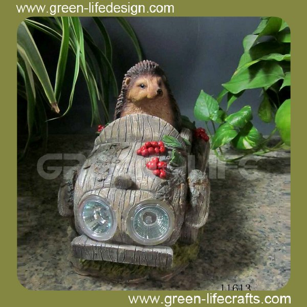 Garden solar hedgehog light wholesale