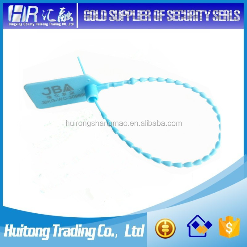 H-24 security plastic Indicator Seal hang tag lock Made in China