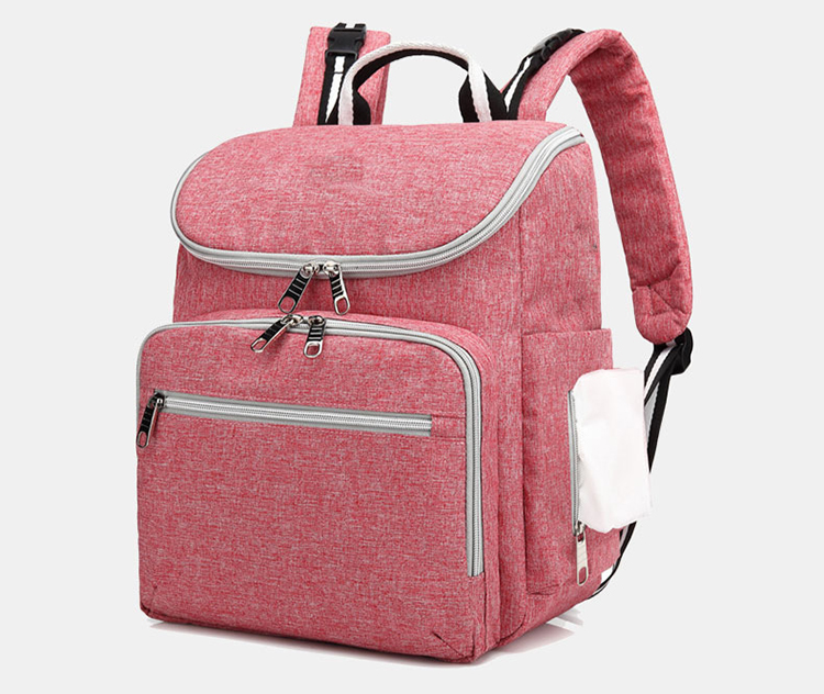 Waterproof Travel USB charging Mom Back Pack Fashion Baby Changing Nappy Bag Mommy Mummy Diaper Bag Backpack