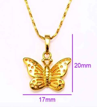 Dubai gold jewelry 18k gold butterfly pendant necklace buy dubai gold jewelry 18k gold butterfly pendant necklace aloadofball Gallery