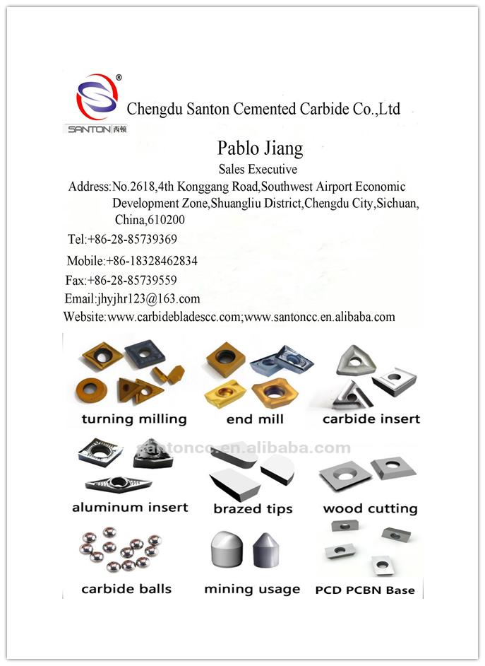 Double Edge Tungsten Carbide Scraper Replacement Blades