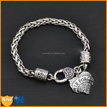 2015 Fashion Treding Hot Wholesale Jewelry On Alibaba Crystal Heart Air Force military charms wholesale