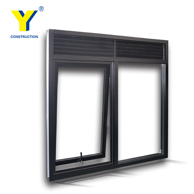 Aluminium frame window Natural Anodised finish | Aluminium Windows and Doors comply with Australian & New Zealand standards