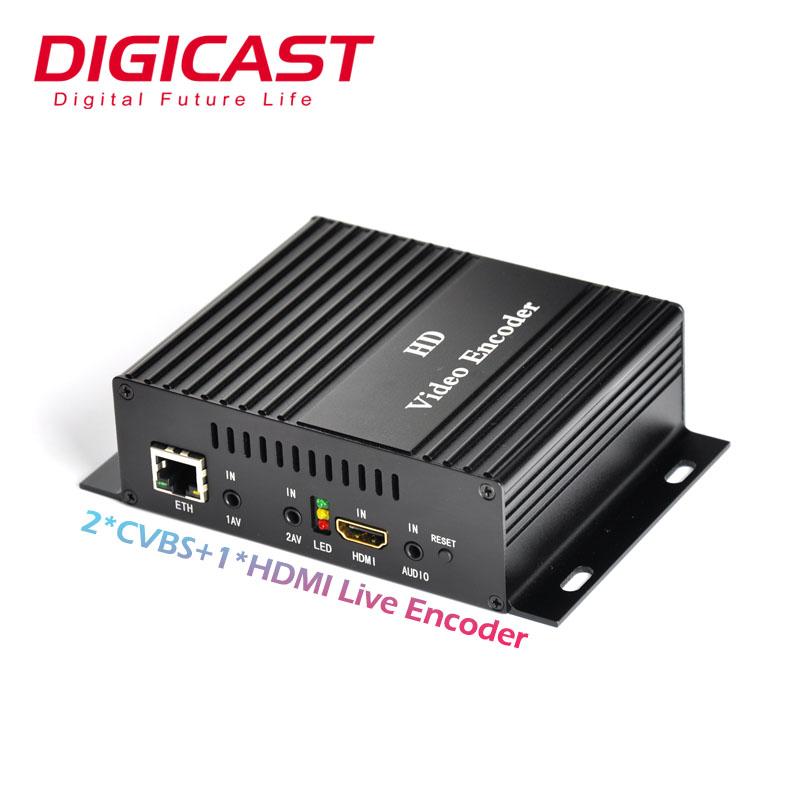 (DMB-8800A) Digicast H.264 Video Encoder IPTV Server IP Live Streaming Cable TV Digital Encoder фото