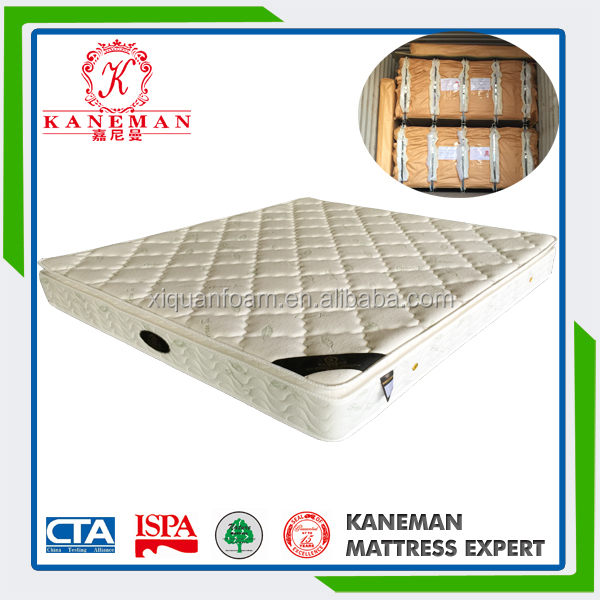 China home furniture life style vacuum packed mattress