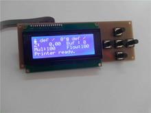 3D Printer Smart Controller RAMPS 1.4 12864 LCD 2004 Control Panel Blue Screen Plug Play LCD Screen 3D Printer Display Monitor