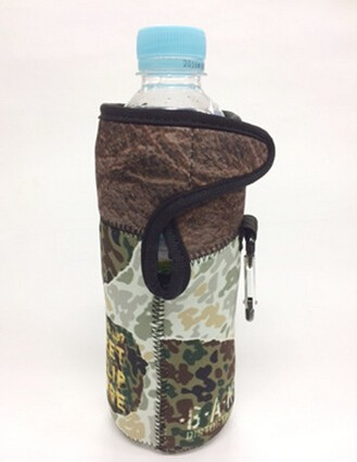 waterproof neoprene fabric Lunch Tote bag + Bottle Sleeve + Can Coolers