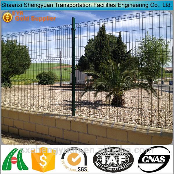 2x2 Galvanized Metal Garden Trellis Fence Panel