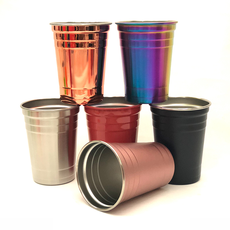 Onbreekbaar 16 oz Rvs Party Cup Solo Cups
