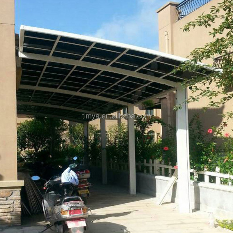 Aluminum Motorcycle Shelter : Motorcycle roof canopy scooter with homemade