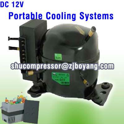 12v Car Refrigerator Cooler For Mini Refrigerator Cabinet Small ...
