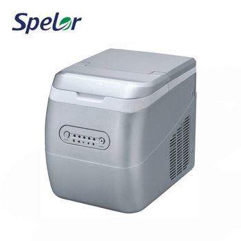 Long Time Storage Microcomputer-Controlled Domestic Ice Maker