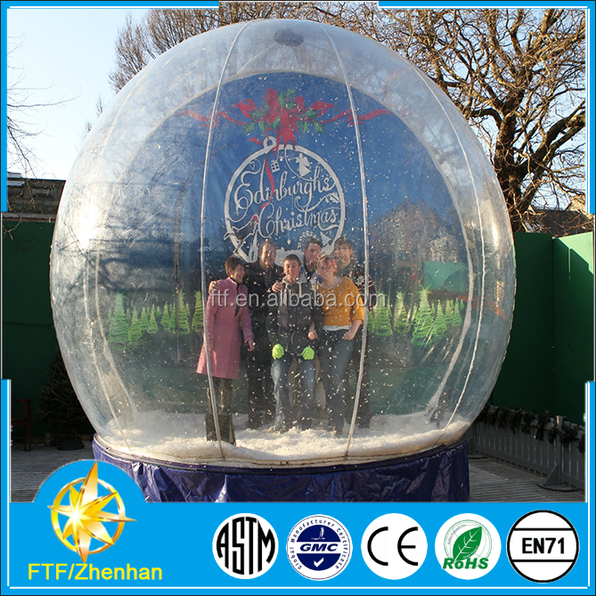Giant Inflatable Snow Globe, Giant Inflatable Snow Globe Suppliers ...