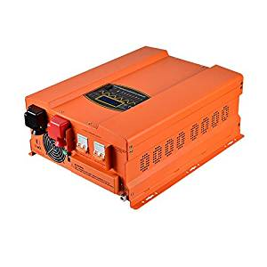 8000w Peak 24000w Pure Sine Wave Power Inverter Charger MabelStar HP Series DC Converter 120/240 Vac output Split Phase DC 48V LCD Display