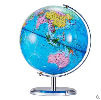 high quality pvc mental set world earth desk decoration globe - Decorative Globe