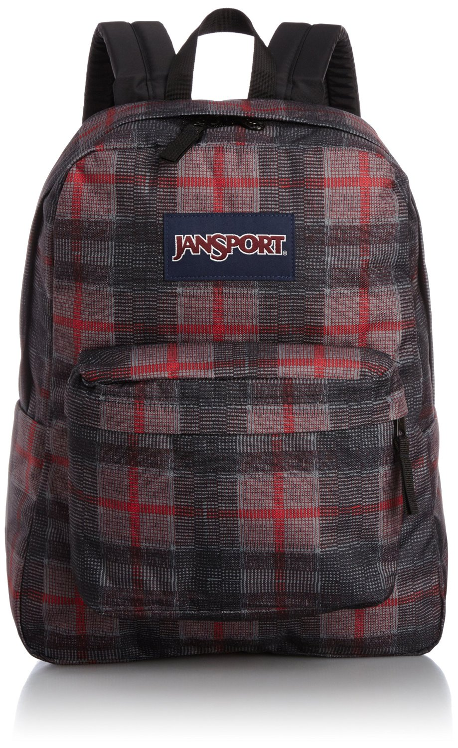 21f423b879c4 Buy JanSport SuperBreak Backpack (Red Tape Knit Plaid) in Cheap ...