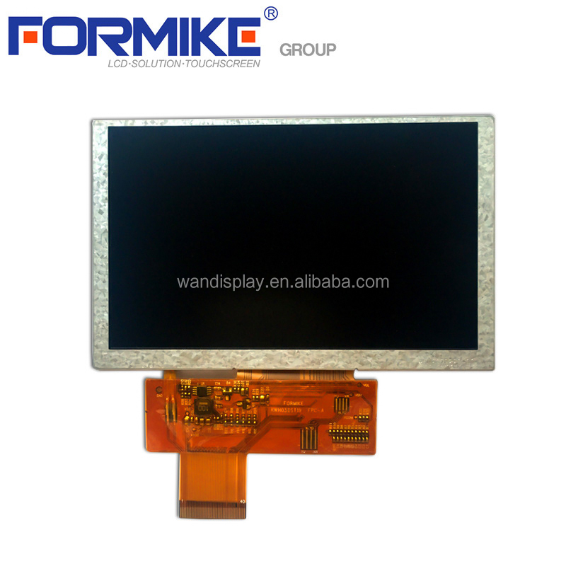 5 inch TFT LCD display module & touch panel capacitive or resistive