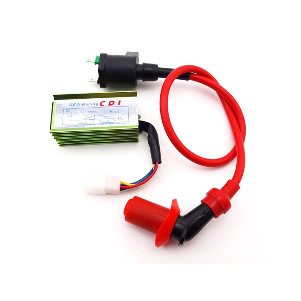 Cheap Kazuma 50cc Quad Find Deals On Line At Raptor Atv Wiring Diagram Get Quotations Tc Motor Racing 5 Pin Ac Cdi Ignition Coil For 70cc 90cc 110cc