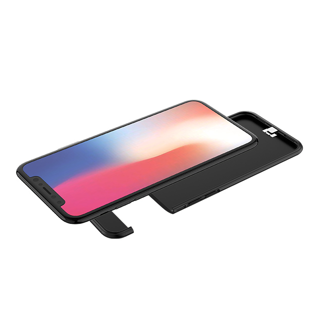 Li-polymer 4000mAh capacity back up phone case power bank for iPhone X фото