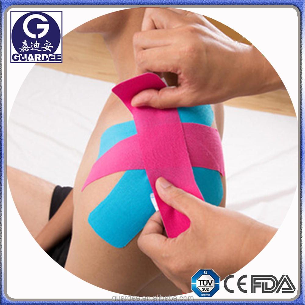 Single Convenient I,X,Y,Paw-Patch Kinesis Strip Tape for Athletic