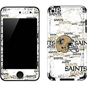NFL New Orleans Saints iPod Touch (4th Gen) Skin - New Orleans Saints - Blast Vinyl Decal Skin For Your iPod Touch (4th Gen)