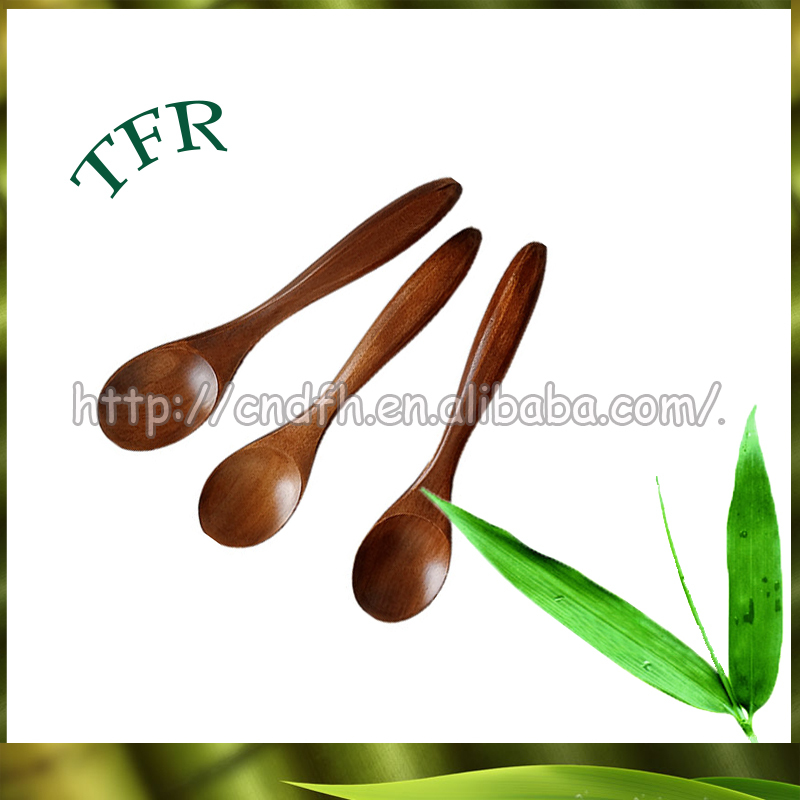 Disposable fancy wooden eco bamboo cutlery
