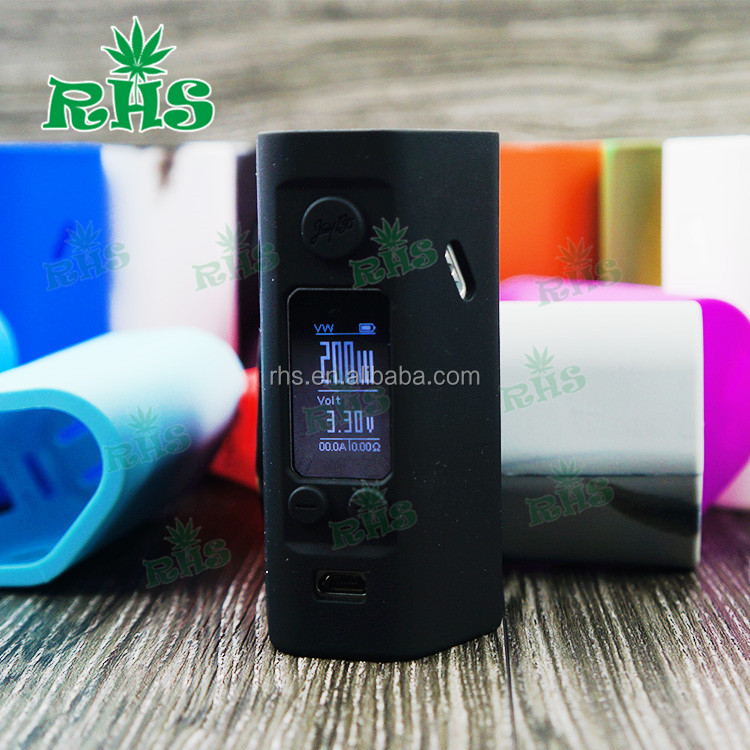 Vape tc mod 2016 new Original Wismec Reuleaux RX200S , Wismec RX 200S , silicon cover for rx200s
