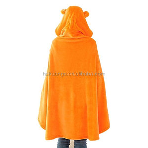 adult hooded surf poncho towel/poncho hooded towel for adults