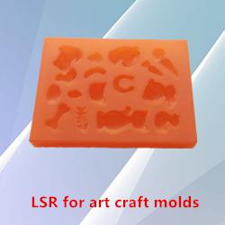 Sıvı RTV2 silikon kauçuk kalıpları yapmak için sıva/beton/heykel/heykel silikon kalıpları