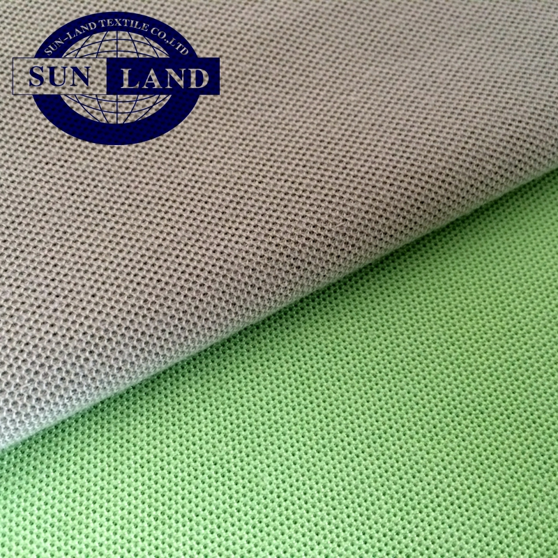 basic shirts cloth paper printing 60% polyester 40% cotton single jersey knitted fabric