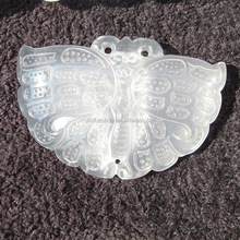 Wholesale Natural Handmade Ornament Crystal Butterfly For Holiday Gift
