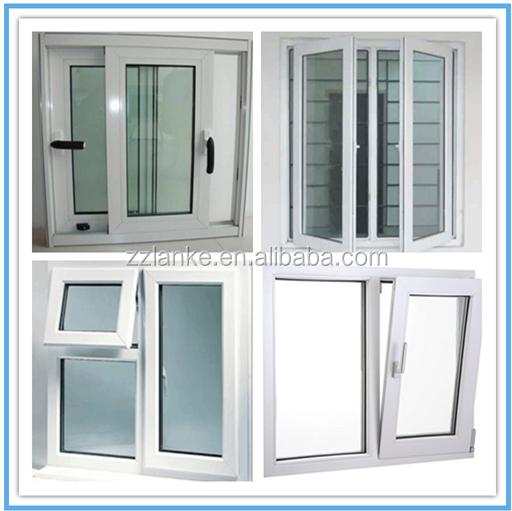 Doorframe profile pvc profiles upvc 60 mm for glass door for Upvc door frame
