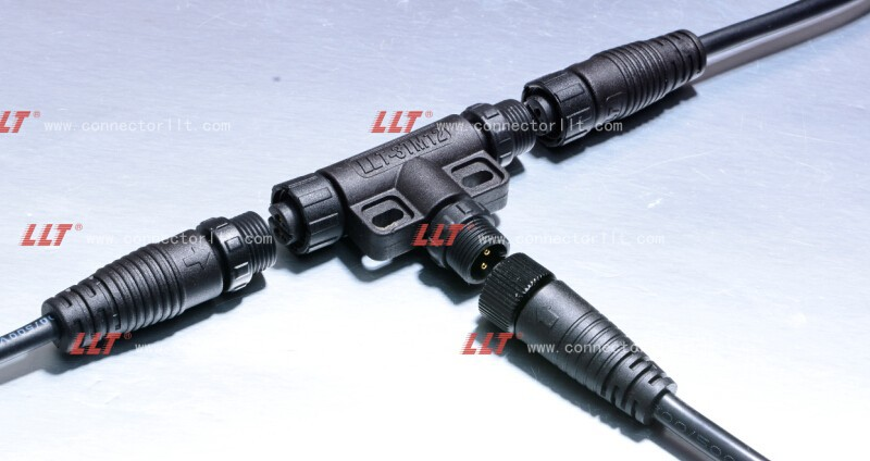 T Connector Waterproof Cable