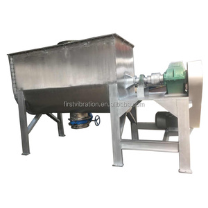 concrete paint metal powder blender horizontal double ribbon mixer