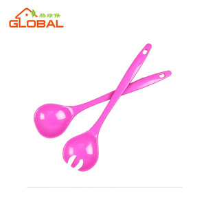 New product hot sale plastic melamine salad fork and spoon