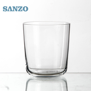 Hot sale personal purity crystal oval-shaped diamond whisky glass