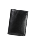 Wholesale small order stock PU leather men wallets short slim card cash envelope bifold wallet for man custom fashion purses