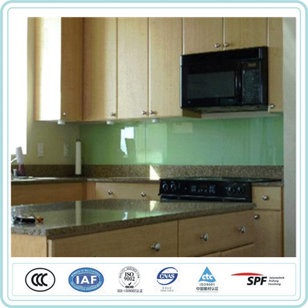 iso9001 approved kitchenware frosted tempered glass