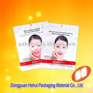 Custom Cosmetic Mask Packaging Bag apron packaging bag one time use daily items