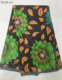 Guaranteed Dutch Wax African Super Wax Hollandais 100% Cotton African wax Fabric with green flowers