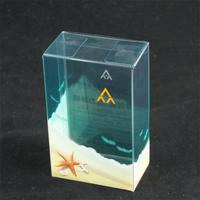 PET ,RPET,GPET,GAG,PP folding clear gift box plastic packaging