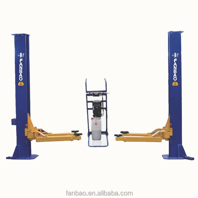 Movable Two Post Lift Bendpak Post Lift Auto Hoist Car Lifting Machine -  Buy Two Post Car Lift,Used 2 Post Lift,Attic Lifts Product on Alibaba com