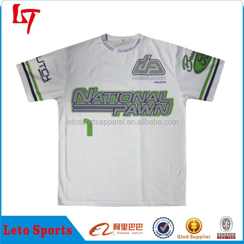 High quality fashion sublimation cheap t-shirt /O-neck UV protective clothing /custom made t-shirt