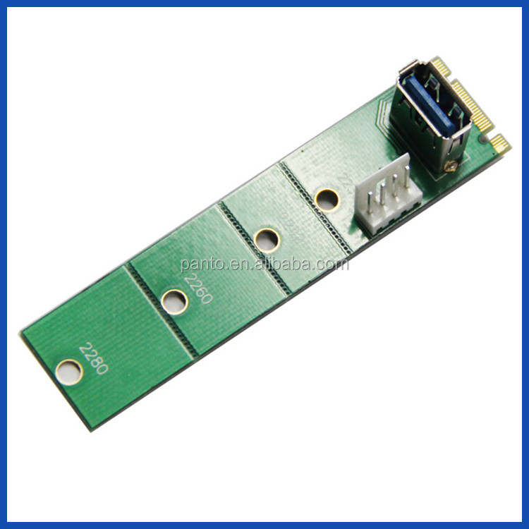 Floppy 4 pin Molex power cable NGff USB3.0 Card