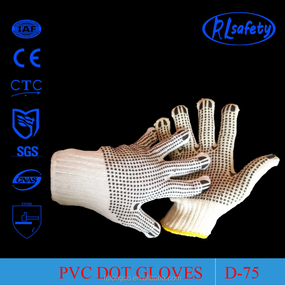 Ansell palm dots work gloves