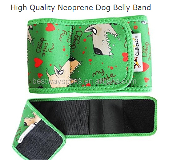 High quality waterproof neoprene comfortable neoprene waist back support belt belly band for weigh band