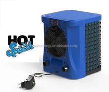 Hotsplash defrost Titanium swimming pool spa heaters with cooling&heating